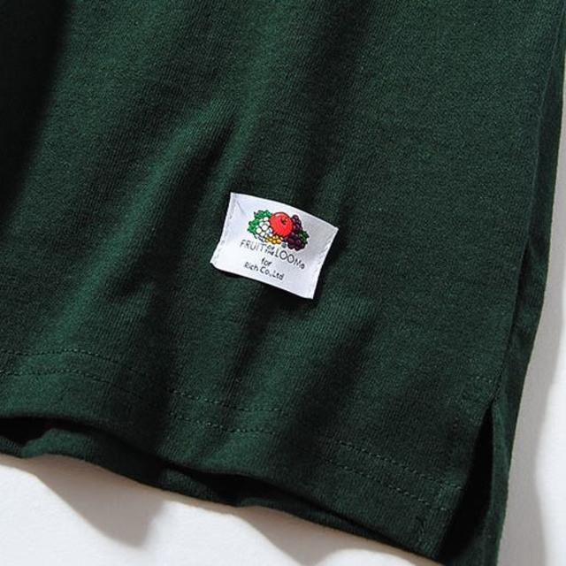Ron Herman(ロンハーマン)のFruit Of The Loom ビッグロンT グリーンM Tシャツ 長袖  メンズのトップス(Tシャツ/カットソー(七分/長袖))の商品写真