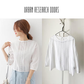 DOORS / URBAN RESEARCH - 17SS URBAN RESEARCH DOORS レースブラウス