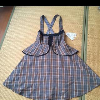 axes femme - 新品 ジャンパースカート