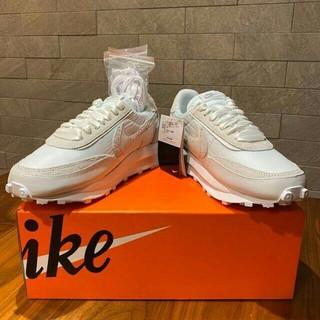 ナイキ(NIKE)の25.5cm Sacai Nike LD Waffle White(スニーカー)