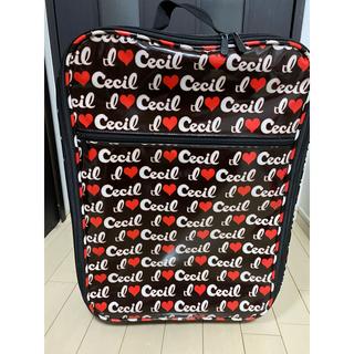 セシルマクビー(CECIL McBEE)のセシルマクビー  キャリーケース(スーツケース/キャリーバッグ)