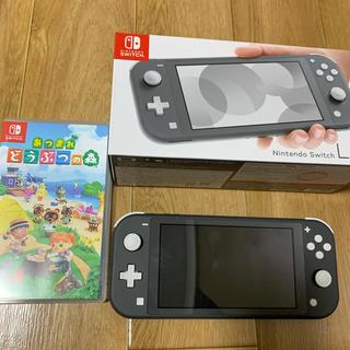 Nintendo Switch - ニンテンドーSwitch lite どうぶつの森セット 値下げ交渉可能