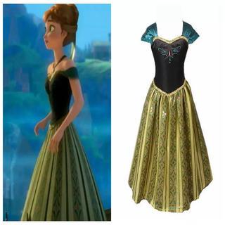 Disney - アナ ドレス プリンセスドレス アナ雪 衣装