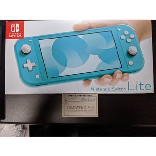 任天堂 - 【新品未開封】Nintendo Switch Lite ターコイズ【おまけ付き】