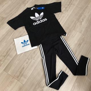 adidas - 新品☆アディダス☆レディース☆2点上下セット☆Tシャツ、レギンス☆S.M.L