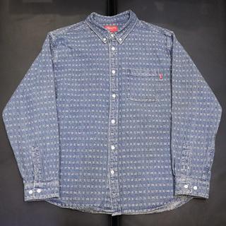 Supreme - Supreme 20ss Jacquard Logos Denim Shirt