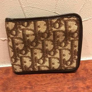 クリスチャンディオール(Christian Dior)のクリスチャンディオール ヴィンテージ ウォレット 2つ折り財布 トロッター(折り財布)