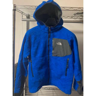 THE NORTH FACE - ノースフェイス THE FACE フリースパーカー デナリ キッズ
