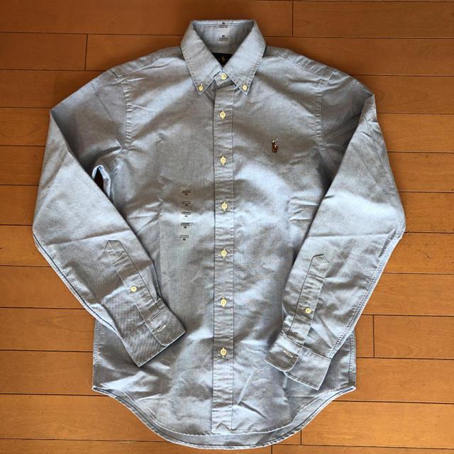POLO RALPH LAUREN(ポロラルフローレン)の新品 ラルフローレン 定番オックスフォードシャツ ブルー XS(Sサイズ相当) メンズのトップス(シャツ)の商品写真