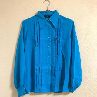Santa Monica - ヴィンテージ 水色シャツ