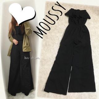moussy - MOUSSY♡ドット レース ベアオールインワン