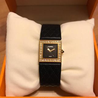 CHANEL - シャネル マトラッセ 腕時計 ダイヤベゼル