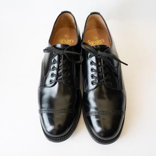 SANDERS - SANDERS military derby shoe 1128B