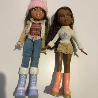 Barbie - ブラッツ バービー サイズはリカチャンサイズ二つセット お子様、お孫さん限定