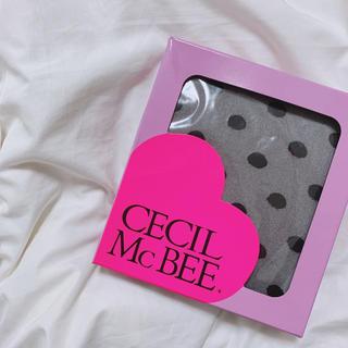 CECIL McBEE - CECIL McBEE ドット柄タイツ