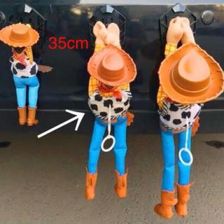 Disney - トイストーリー♡車、ぶらさがり人形❗️ウッディ♡固定留め具付き!ディズニー