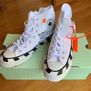 コンバース(CONVERSE)の28cm Off White x Converse Chuck 70(スニーカー)