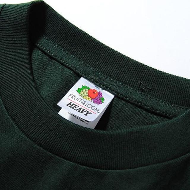 Ron Herman(ロンハーマン)のFruit Of The Loom ビッグロンT グリーンL Tシャツ 長袖 メンズのトップス(Tシャツ/カットソー(七分/長袖))の商品写真