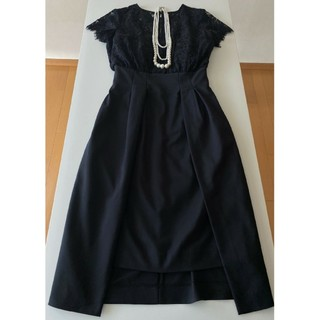 LagunaMoon - LAGUNAMOON 黒 レースタイトドレス フォーマル セレモニー