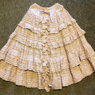 PINK HOUSE - ピンクハウス 豪華リボン付きロングスカート 未使用