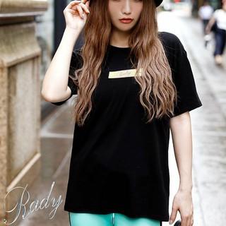 Rady - Rady♡新品未開封♡box Rady Tシャツ♡ブラック×レモンイエロー