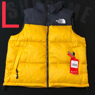 THE NORTH FACE - 黄 THE NORTH FACE 1996 RETRO NUPTSE VEST