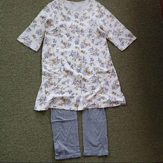 ベルメゾン - マタニティ 授乳口付きパジャマ 七分袖