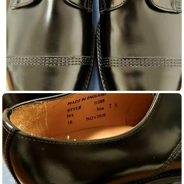 SANDERS(サンダース)のサンダース ミリタリーダービーシューズ メンズの靴/シューズ(ドレス/ビジネス)の商品写真
