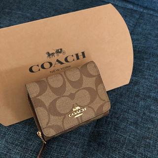 COACH - 大幅値下げ 直営店購入 新品 Coach コーチ シグネチャー ウォレット