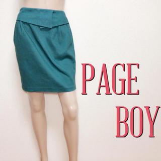 PAGEBOY - いつでも♪ページボーイ キレカジ デザインスカート♡マウジー エモダ