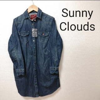 FELISSIMO - 【新品タグ付】サニークラウズ Sunny Clouds デニムシャツ Mサイズ