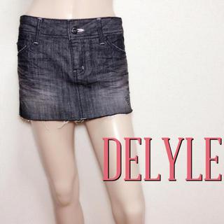 Delyle - 可愛すぎ♪デイライル デザインデニムスカート♡マウジー ロデオクラウンズ