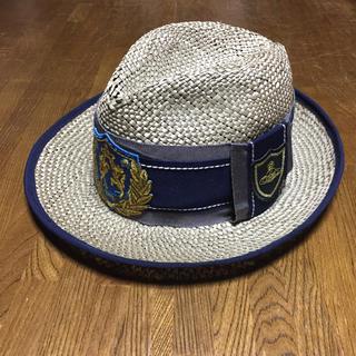 ヴィヴィアンウエストウッド(Vivienne Westwood)のVivienne Westwood Accessories Straw Hat (麦わら帽子/ストローハット)