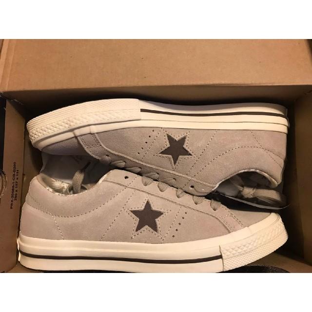 CONVERSE(コンバース)のconverse One star コンバース ワンスター 小豆 レディースの靴/シューズ(スニーカー)の商品写真