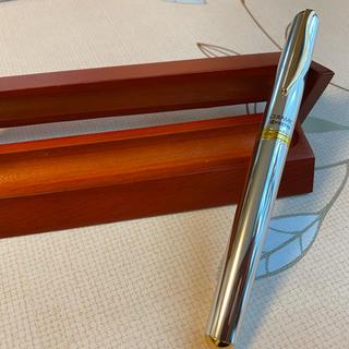 キョウセラ(京セラ)のKYOCERA 京セラ 高級水性ボールペン KB-25WN SL シルバー 新品(ペン/マーカー)