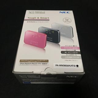 NEC - NEC WiMAXルータ【Aterm WM3600R】《中古 モバイルルータ》