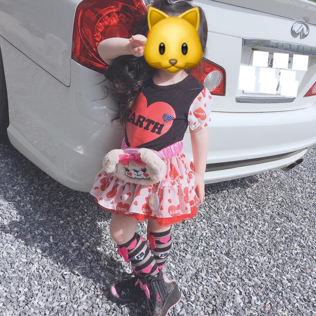 EARTHMAGIC(アースマジック)のスカート110 キッズ/ベビー/マタニティのキッズ服女の子用(90cm~)(スカート)の商品写真