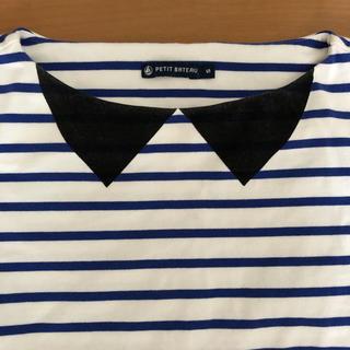 プチバトー(PETIT BATEAU)の雑誌掲載✳︎petitbateauボーダー Tシャツ トップス(Tシャツ(半袖/袖なし))