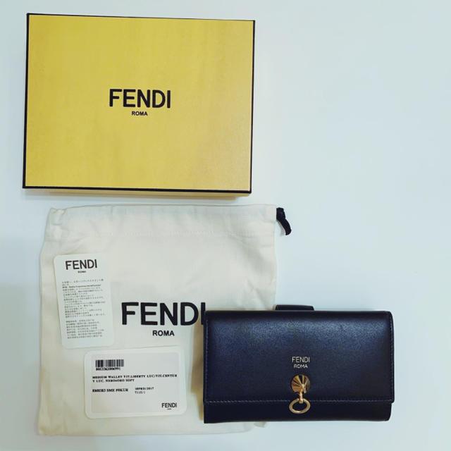 FENDI(フェンディ)の【新品未使用】FENDI フェンディ 二つ折り 財布 レディースのファッション小物(財布)の商品写真