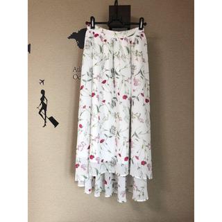 LOWRYS FARM - ローリーズ ファーム 花柄スカート