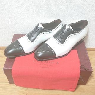 クロケットアンドジョーンズ(Crockett&Jones)の未使用品 carmina コンビ シューズ 靴 カルミナ カルミーナ(ドレス/ビジネス)
