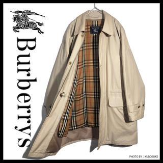 BURBERRY - 交渉あり‼︎  バーバリー ステンカラーコート ヴィンテージ  554