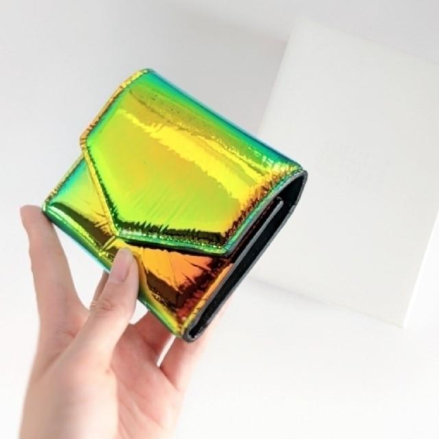 Maison Martin Margiela(マルタンマルジェラ)の【新品】Maison Margiela エンベロープ カレンダーロゴ ミニ財布 レディースのファッション小物(財布)の商品写真