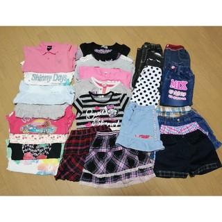 COMME CA ISM - 女の子 子供服 120 春夏服まとめ売り24点