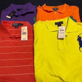 POLO RALPH LAUREN - [未使用・タグ付き]ポロラルフローレン ポロシャツ四枚