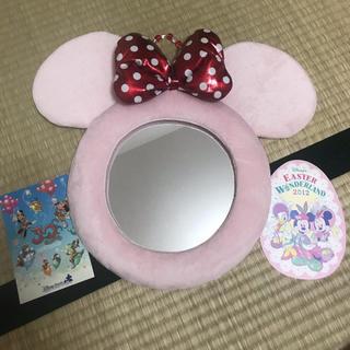 ミニーマウス(ミニーマウス)のディズニーミニーマウス🐹鏡大即購入OK🌈(キャラクターグッズ)