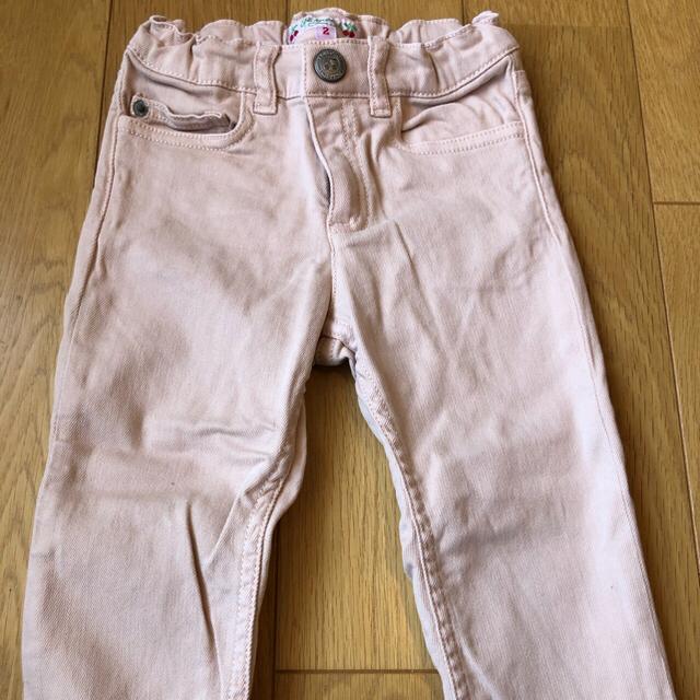 Bonpoint(ボンポワン)のBonpoint ジーンズ+Paul Smith Tシャツ キッズ/ベビー/マタニティのキッズ服女の子用(90cm~)(パンツ/スパッツ)の商品写真