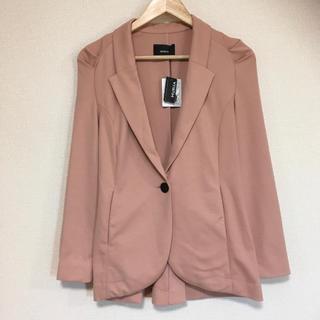 MURUA - 新品・タグ付き◎MURUA テーラードくすみピンクジャケット♪