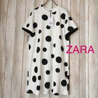 ZARA - 《未使用》ZARA  水玉ワンピース