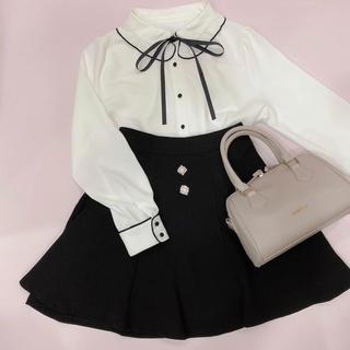 evelyn - アンミール ✴︎ フレアスカート ブラック